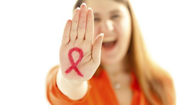 aidsli kadın