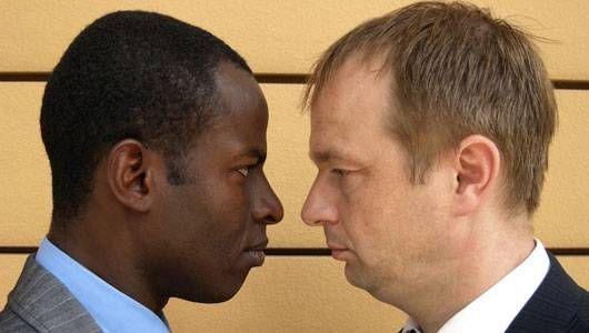 Siyah ve Beyaz Erkek