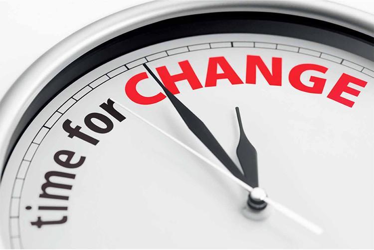 değişim zamanı