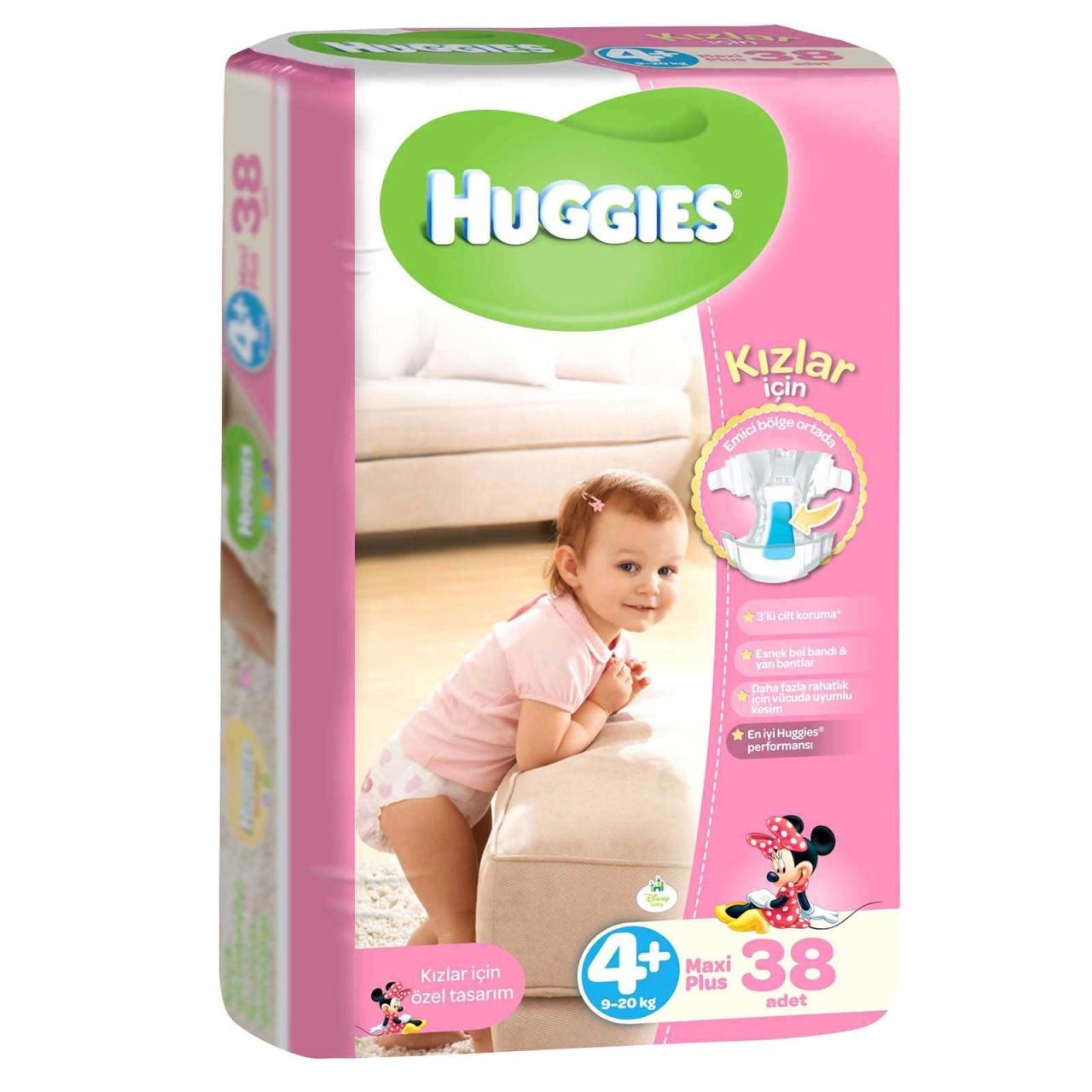 huggies kızlar için
