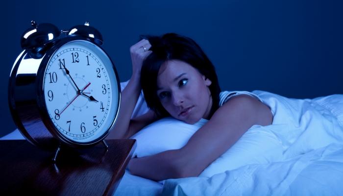 uykusuz kadın