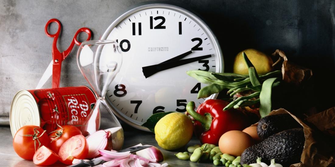 gıdalar ve saat
