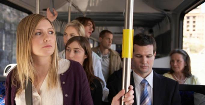 otobüs yolculuğu