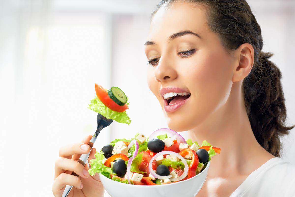 yemek ve kadın