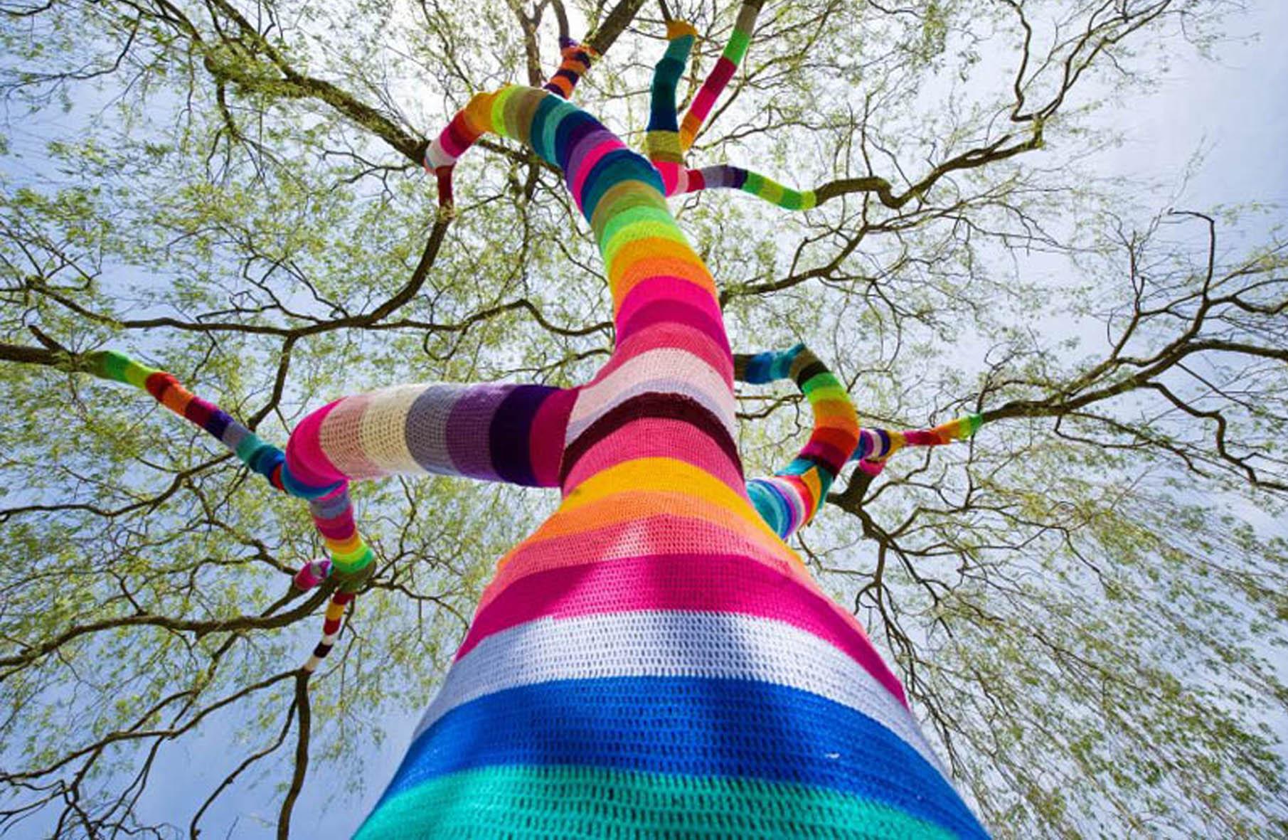 renkli ağaç
