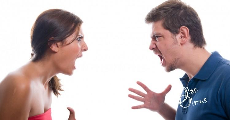 kavga eden çift