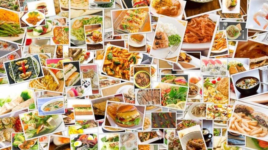 çeşitli yemek görselleri