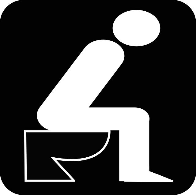 lavaboya oturan kişi