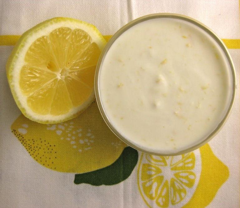 yoğurt limon